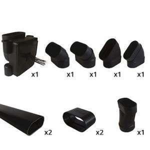 Kit pour passage vertical de cloison sèche 11071060