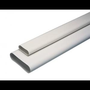 minigaine aldes Conduit rigide plastique oblong 60x200