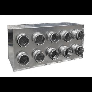 Plenum intermédiaire 10x75/160 ventilation eocnoname