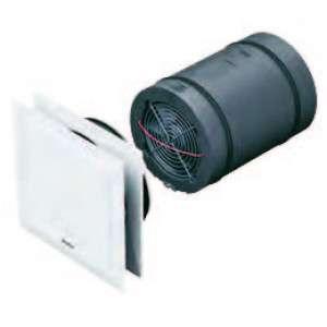 Unité de ventilation double flux décentralisée EcoVent Verso KWL EC 45 Hélios