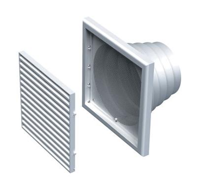 GPA 186x186 ALDES Grille plastique carrée 11001503
