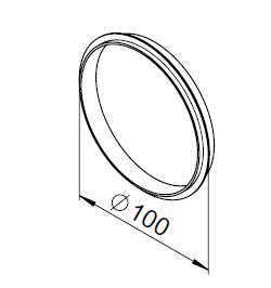 10 Joints à lèvre DN100 3033 helios
