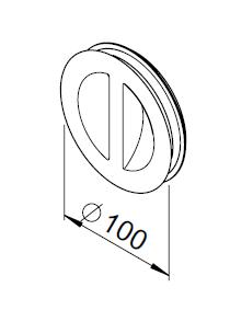Obturateur / bouchon de nettoyage DN100 3037 helios