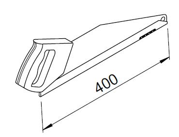 Scie égoïne RenoPipe 3044 helios