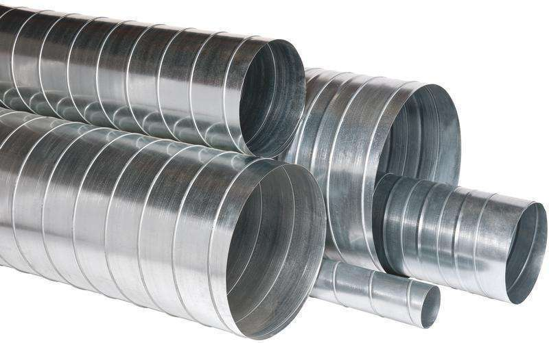 3m Conduit rigide galva diamètre 125 mm