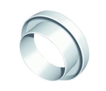 RA 100/80 ATLANTIC Raccord d'adaptation ⌀100/80 plastique 460017