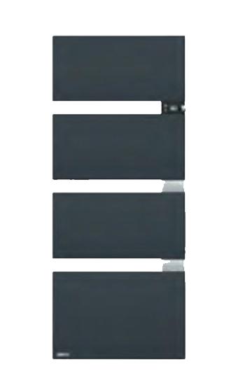 Symphonik thermor gris ardoise alu 490615