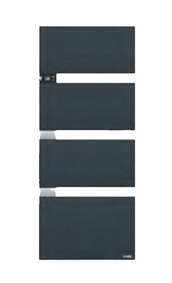 symphonik thermor gris ardoise alu 492615