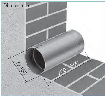 manchon helios TWH 150 6354