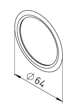 10 Joints toriques pour conduit d'air FRS⌀63 9331 helios