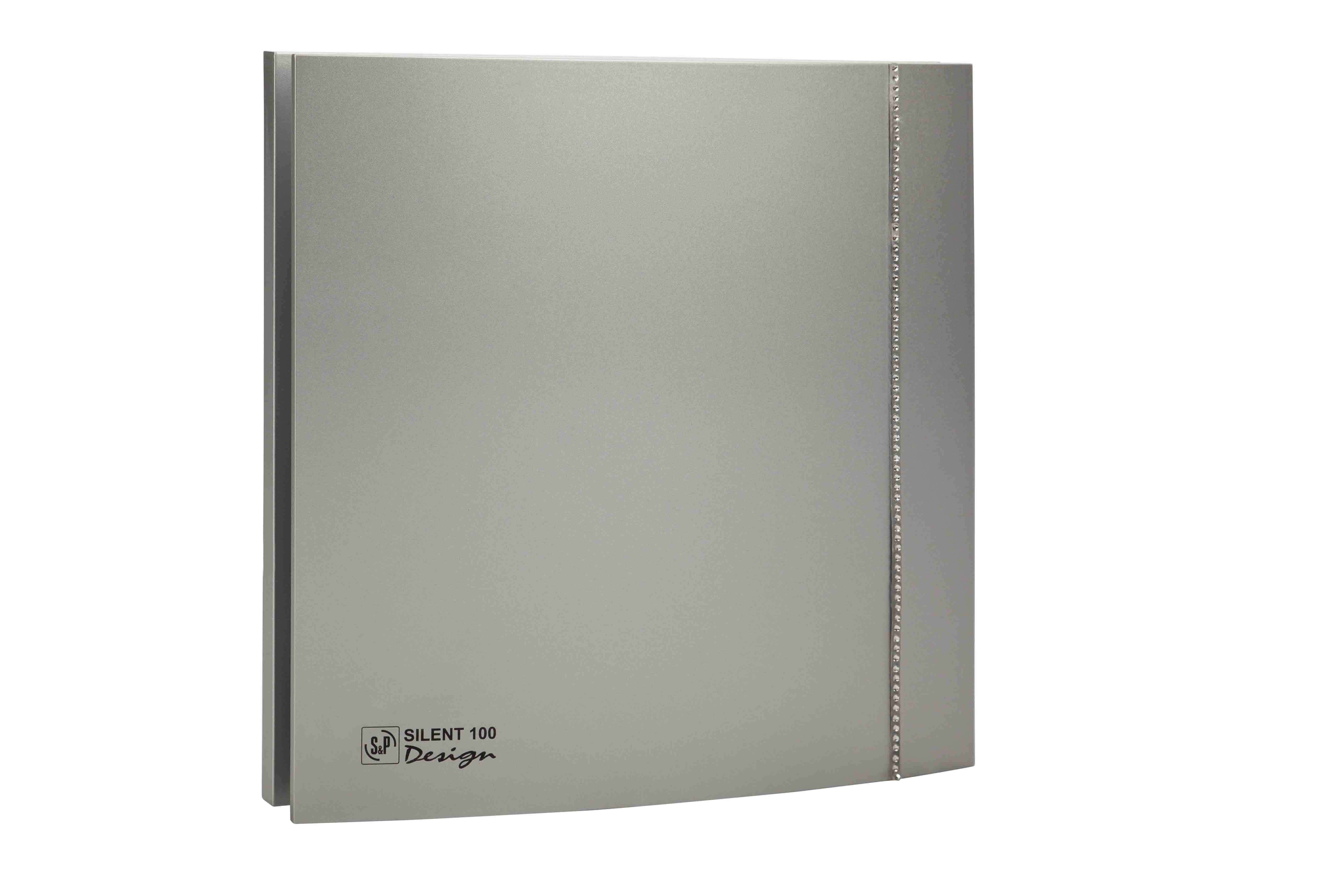 SILENT 100 CZ SILVER DESIGN SW UNELVENT AERATEURS DESIGN 100 403489
