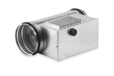Batterie 0,8 kW régulateur p/ conduits D125