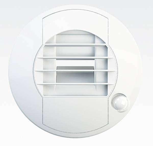Bouche extraction hygro WC à détection électrique 12 V
