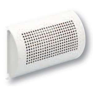 Bouche chauffante galbée vertic. avec thermostat