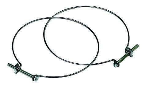 10 Colliers de serrage en acier ⌀125 ( Par 10 )