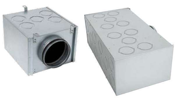Caisson répartiteur métal 13xD75 1xD160