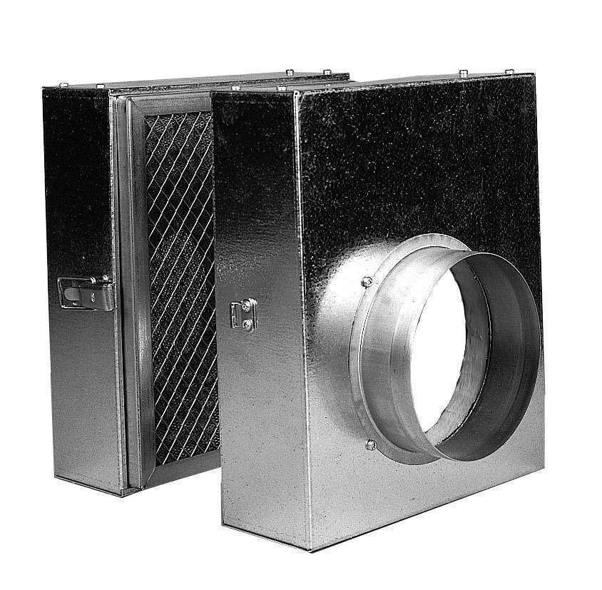 Caisson filtrant diam 125 pour DIFUZAIR D320 ou D520 Nather