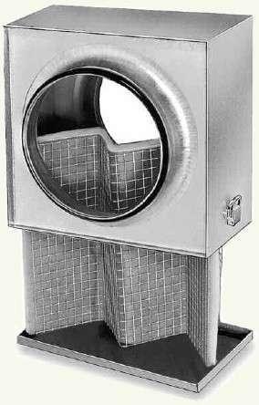 Caisson filtre G4 pour conduits circulaires ⌀200