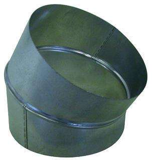 Coude galva diamètre 100 mm