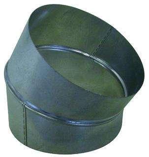 Coude galva diamètre 80 mm