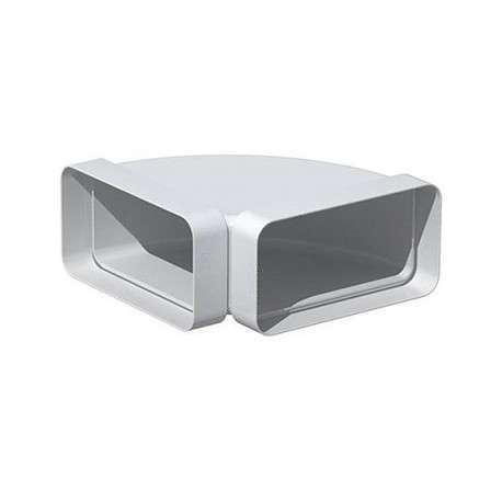 Coude horizontal rectangulaire 90° 40x110
