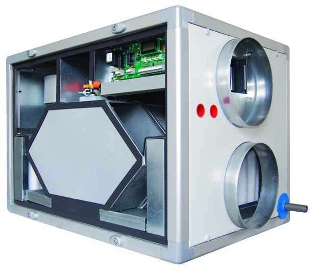 Centrales DF Monobloc Contreflux DFE 1200 G4 SANS RC Aldes 11060823