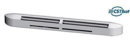 Entrée d'air hygroréglable acoustique compacte -EHC 5/45-34 GR-Atlantic-526614