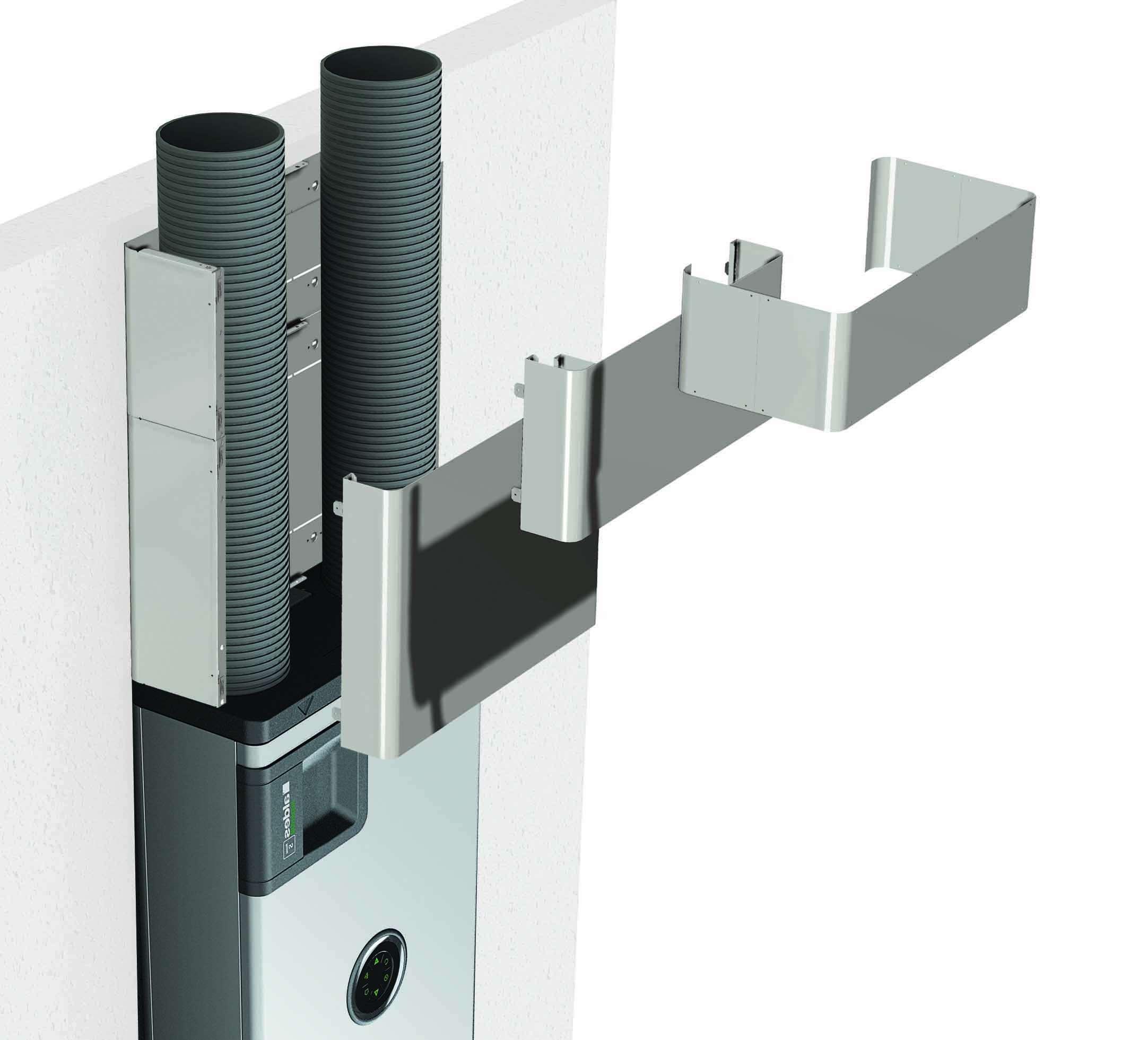 Cache gaine 500mm pour InspirAIR Home SC370 Aldes 11023399
