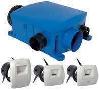Kit VMC simple flux hygroréglable  Bahia Compact T3+HYGRO B 11033158 Aldes
