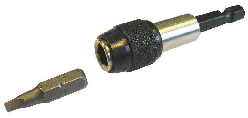Kit embout magnétique pour vis autoforeuse tête carrée