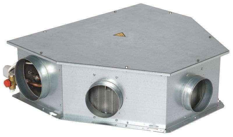 Module de chauffage eau chaude 3 sorties VMC