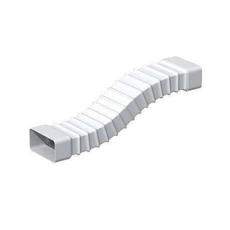 Tube rectangulaire souple 40x110