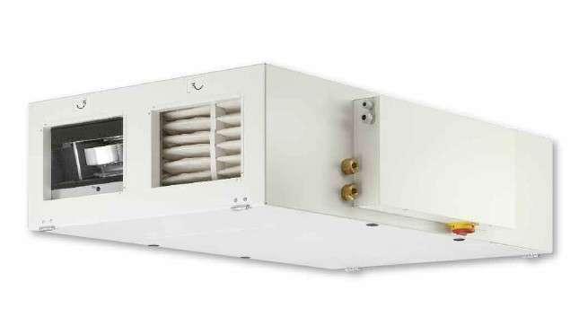 VMC DF avec batterie eau chaude