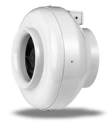 Ventilateur centrifuge 330 m³/h pour gaine ⌀125