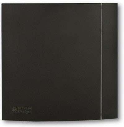 SILENT 100 CZ Black DESIGN UNELVENT AERATEURS DESIGN 100 403520