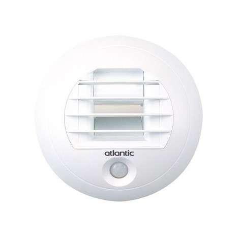 Bouche hygroréglable SDB/WC commun électrique et détection de présence D80
