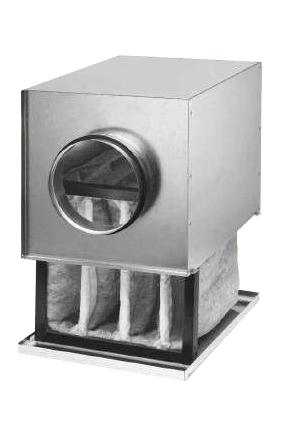 Caisson filtre F7 pour conduits circulaires ⌀160 helios
