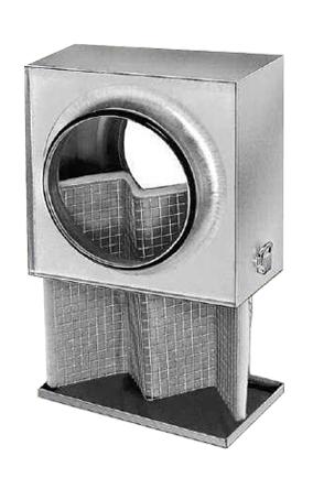 Caisson filtre G4 pour conduits circ. ⌀125 helios
