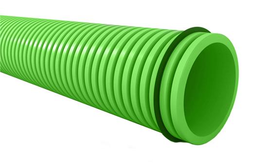 Conduit semi-flexible rond D75 mm lot de 5 rouleaux