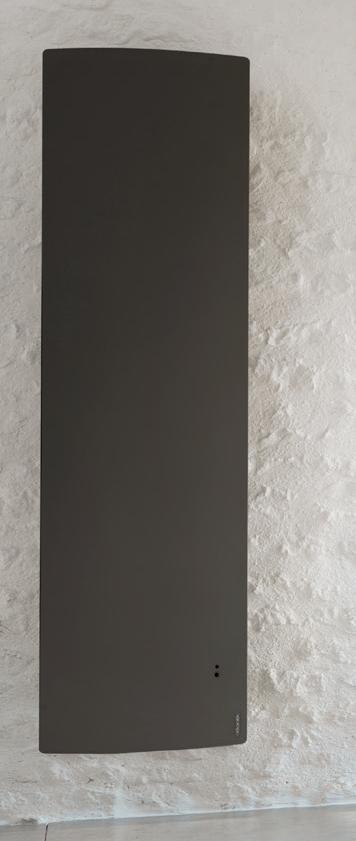 Divali atlantic vertical gris radiateur connecté 1500W