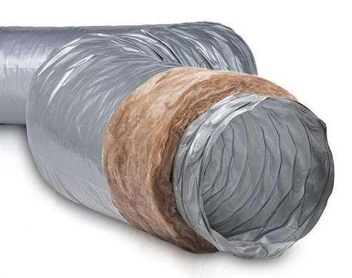 6m Gaine PVC souple isolée 25mm ⌀80