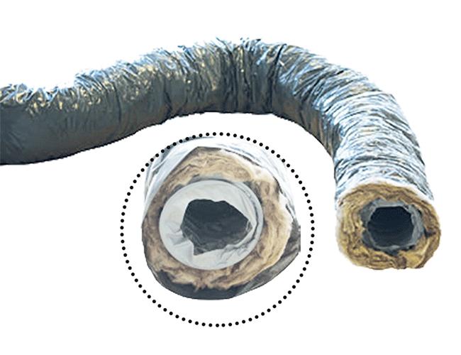 Gaine souple PVC isolée