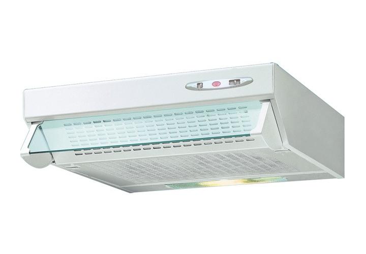 HP unelvent hotte cuisine cascette blanc 510106