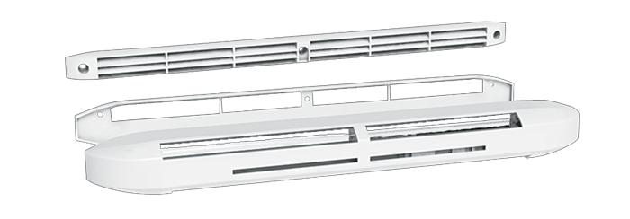 Kit Entrée d'air Hygroreglable Acoustique rallongée 6/45m3/h