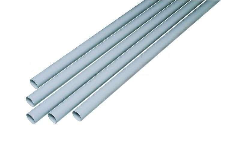 Lot de 6 tubes PVC Conduit ⌀51  2,5m Aspiration centralisée Aldes