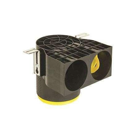 Profi-air classic outlet  COURTE90 degree2 x dim. 90 mm - DN 125 78390382
