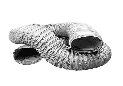 Gaine PVC souple rect. Renforcée D80