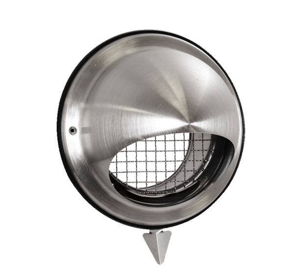 Prise/rejet air VMC inox D160 mm