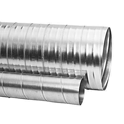 Conduit rigide Galva D100 long. 3m ECONONAME CRGALD100L3