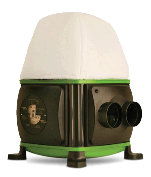 VCi roof 2s unelvent ventilation insufflation 600499